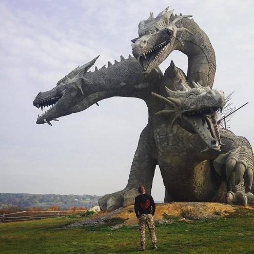 кудыкина гора, Змей Горыныч