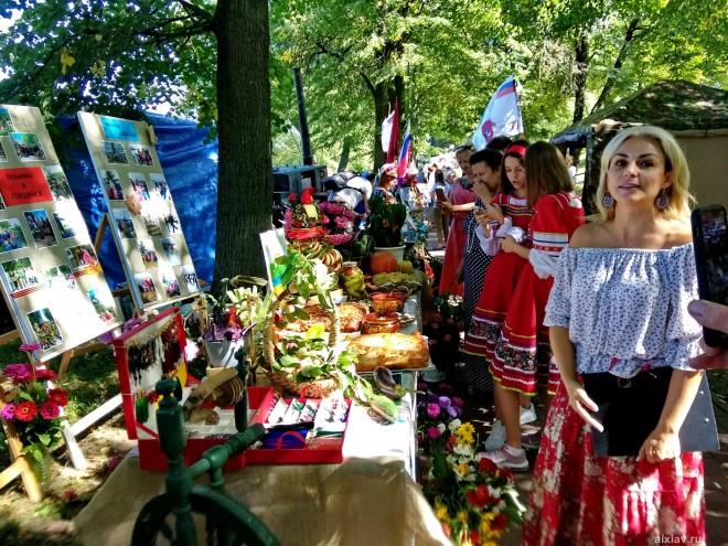 Праздник урожая «Спасовки» в посёлке Фабрики им.1 Мая