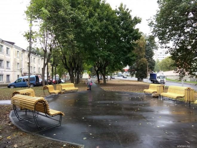 Фонтан на улице Химиков Серпухов