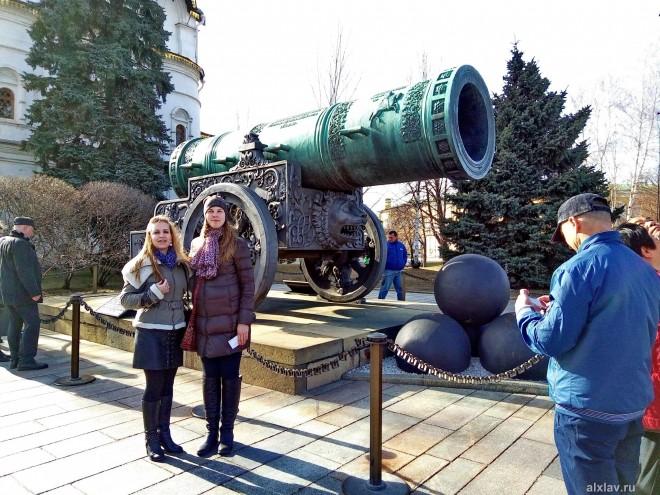 Кремлёвская Царь-пушка побывала в Серпухове. Новые открытия