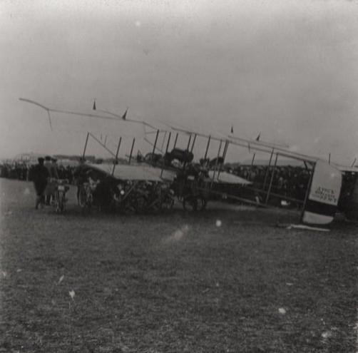 Перелет: Москва – Подольск – Серпухов – Москва. 04 мая 1913 года