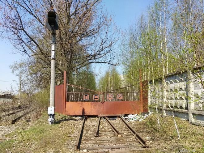 ретропоезд в Серпухове