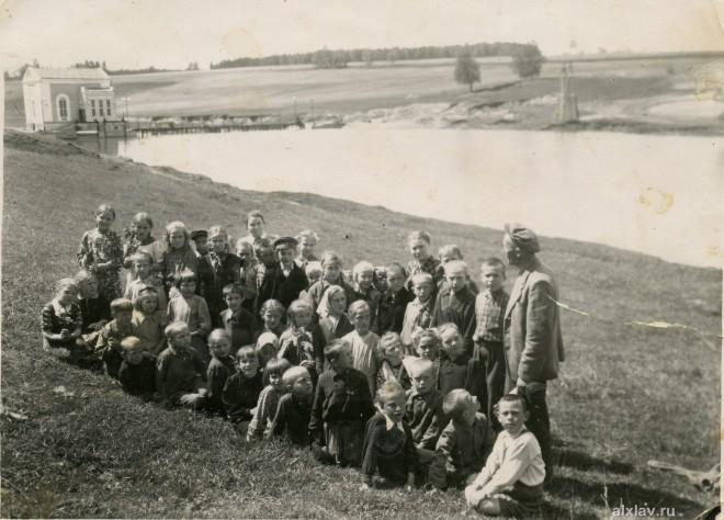 Около плотины в Булгаково