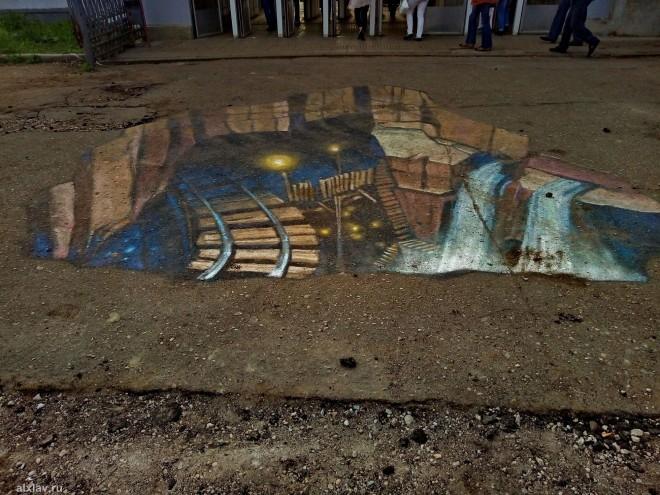 3D рисунки в Подольске