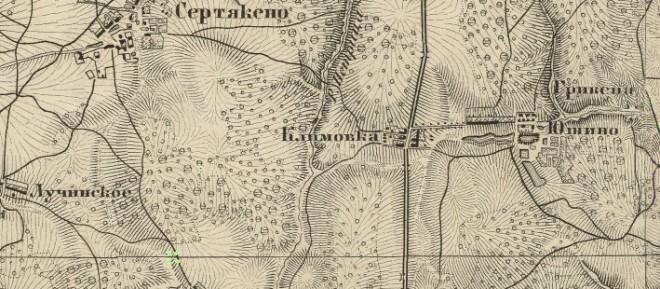 Климовка на каре Шуберта, 1860
